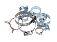 hose clamps / screw clamps - various sizes - 1 piece