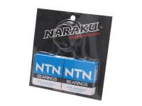 crankshaft bearing set Naraku heavy duty incl. oil seals for Peugeot vertical Euro 1