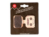 brake pads Naraku sintered for Aprilia RS, CPI GTR, Peugeot Speedfight 3
