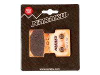 brake pads Naraku sintered for Aprilia Scarabeo 100