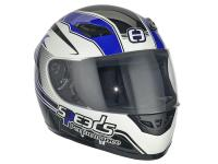 helmet Speeds full face Performance II Racing Graphic blue