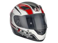 helmet Speeds full face Performance II Racing Graphic red