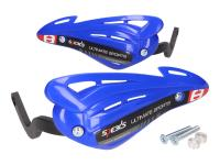 handguards / hand protector set Speeds blue for handlebar with M8 inside thread