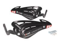 handguards / hand protector set Speeds black for handlebar with M8 inside thread