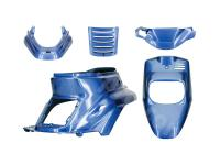 fairing kit Cocktail blue 5-part for MBK Booster