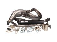 exhaust Yasuni Cross ML MAX black for Offroad, SM, Minarelli AM, Derbi D50B0, EBE, EBS