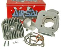 cylinder kit Airsal T6-Racing 69.7cc 47.6mm for Minarelli vertical