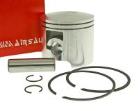 piston kit Airsal racing 76.6cc 50mm for Piaggio / Derbi engine D50B0