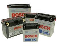 battery selection Bosch for Motorcycle, Scooter, Quad, ATV