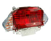 tail light assy - white turn signal lens - E-marked for Kymco Filly, Baotian BT49QT-9