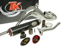 exhaust Turbo Kit Bufanda Carreras 80 for Rieju RR-05, Spike -05