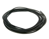 electric wire 0.5mm² - 5m - black