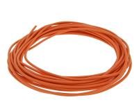 electric wire 0.5mm² - 5m - orange