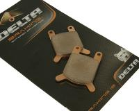 brake pads Delta Braking sintered DB2122SR for without assignment