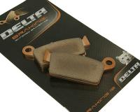 brake pads Delta Braking sintered DB2170SR for without assignment