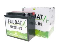 battery Fulbat FTX20L-BS MF maintenance free