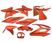 fairing kit orange metallic 9 pcs for Aerox, Nitro