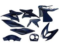 fairing kit blue metallic 9 pcs for Aerox, Nitro