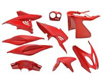 fairing kit red 9 pcs for Aerox, Nitro