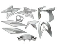 fairing kit silver 9 pcs for Aerox, Nitro