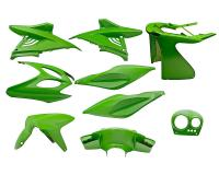 fairing kit green 9 pcs for Aerox, Nitro