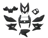 fairing kit black matt 9 pcs for Aerox, Nitro