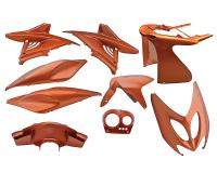 fairing kit flip-flop orange 9 pcs for Aerox, Nitro