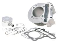 cylinder kit 150cc 57.4mm for China 4-stroke GY6 125 152QMI, 150 157QMJ