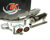 exhaust Turbo Kit Bajo RQ chrome for Beta RK6 98-99 (AM6)