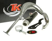 exhaust Turbo Kit Bajo RQ chrome for Suzuki Street Magic 50 TR50