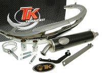 exhaust Turbo Kit Bajo RQ chrome for CPI SX 50, SM 50, Beeline