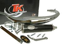 exhaust Turbo Kit Bajo RQ chrome for HM CRE 50 07-12
