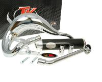 exhaust Turbo Kit Bufanda RQ chrome for HM CRE 50 -06, Factory