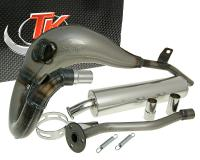 exhaust Turbo Kit Bufanda R for Gilera GSM, H@k, Surfer Morini engine
