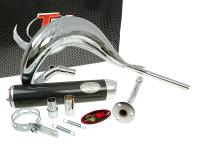 exhaust Turbo Kit Bufanda RQ chrome for Beta RR50 (-02)