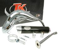 exhaust Turbo Kit Bufanda RQ chrome for HM CRE 50 (07-12)