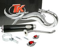 exhaust Turbo Kit Bufanda RQ chrome for CPI SX50, SM50