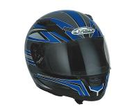 helmet Speeds Evolution II full face graphic blue