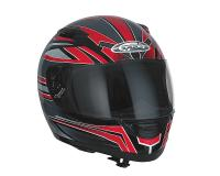 helmet Speeds Evolution II full face graphic red