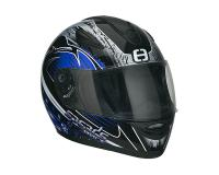 helmet Speeds Race full face graphic blue