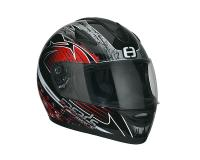 helmet Speeds Race full face graphic red