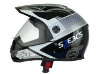 helmet Speeds Cross X-Street Graphic blue