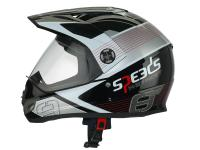 helmet Speeds Cross X-Street Graphic red
