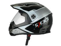 helmet Speeds Cross X-Street Graphic titanium look