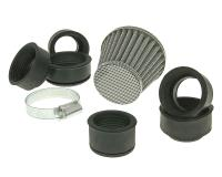 air filter Power 32-45mm carburetor connection carbon-look