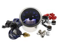 rev counter Koso D55 Eclipse Style max 16000 rpm, 150°C