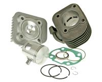 cylinder kit Malossi Sport 70cc for 10mm piston pin for Minarelli horiz. AC