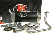 exhaust Turbo Kit GMax 4T for GY6, 139QMB 50cc 4-stroke