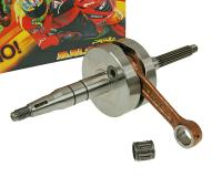 crankshaft Malossi MHR RHQ 85mm conn-rod for 12mm piston pin for Minarelli
