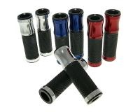 handlebar rubber grip set CNC sport various colors